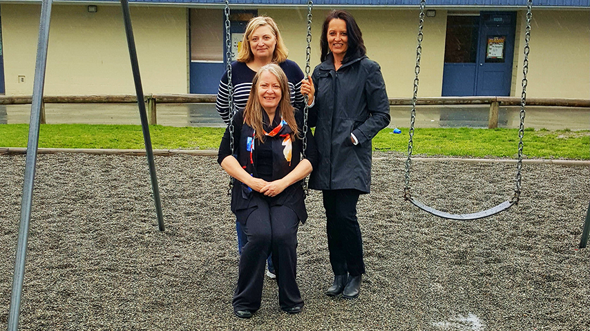 Kinvig Elementary School's management team