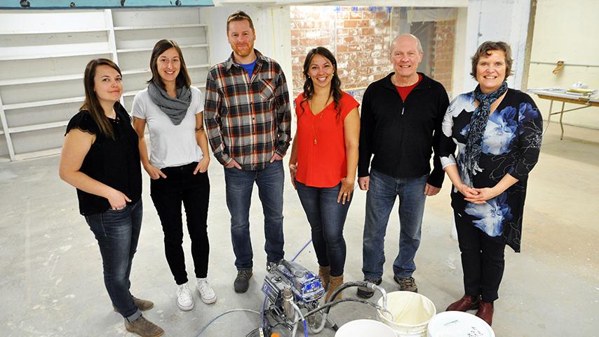 Banff Community Foundation management team