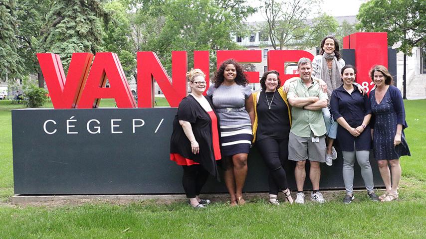 The team of Vanier College