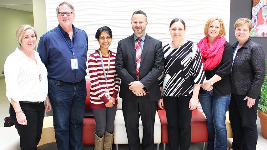 The team of Waterloo Region District School Board